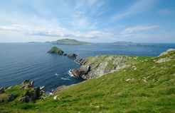 Great blasket island Royalty Free Stock Image