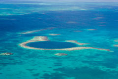 The great blue hole Royalty Free Stock Photo
