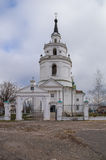 Great Boldino. Church of the Assumption of Our Lady. Royalty Free Stock Image