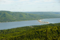 Great Bras D`Or - Nova Scotia - Canada Royalty Free Stock Images