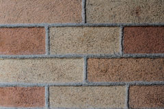 Great brick background, historical building Royalty Free Stock Image