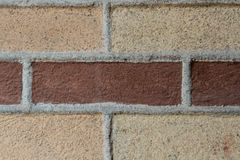 Great brick background, historical building Royalty Free Stock Photography