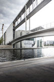 The great bridge over Spree river, Berlin Royalty Free Stock Photography