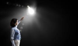 Great bright idea Stock Photography