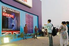 Great Britain Book stall at Kolkata International book fair - 2015. Royalty Free Stock Image