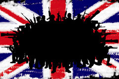Great Britain or british army concept Royalty Free Stock Image