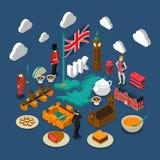 Great Britain Concept Composition vector illustration