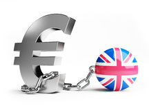 Great britain crisis Royalty Free Stock Images