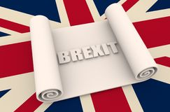 Great Britain and European Union relationships Royalty Free Stock Photography