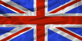 Great Britain Flag 3 Royalty Free Stock Image