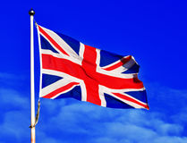 Great Britain flag Stock Photography