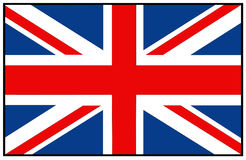 Great Britain flag Royalty Free Stock Photography