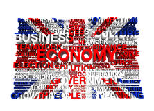 Great Britain flagga Royaltyfri Foto