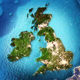 Great Britain and Ireland Royalty Free Stock Photos
