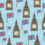 Great Britain Pattern Royalty Free Stock Images