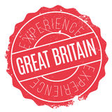 Great Britain stamp Royalty Free Stock Photo
