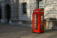 Great Britain Symbol. Symbol of Great Britain - classic english red telephone booth Stock Images