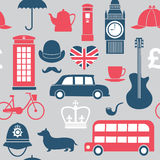 Great Britain symbols stock illustration