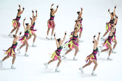 Great Britain team Stock Photography