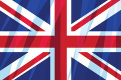 Great Britain, United Kingdom flag Stock Images