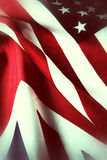 Great Britain and United States flags Royalty Free Stock Photo