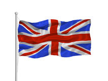 Great Britian Flag 2 Royalty Free Stock Photo