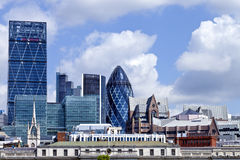 Great British City of London cityscape on a summer day Stock Photo