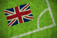 Great british national flag Stock Images