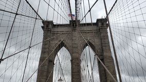 The great Brooklyn Bridge stock image