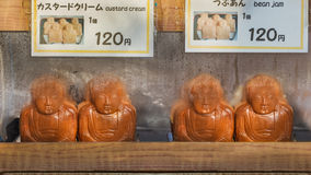 Great Buddha cake in Kamakura Royalty Free Stock Photos