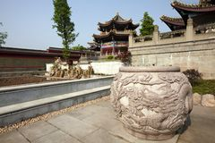 The Great Buddha Chan Monastery Royalty Free Stock Photography