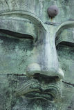 The Great Buddha (Daibutsu) on the grounds of Kotokuin Temple in Stock Image