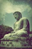 The Great Buddha (Daibutsu) in Kamakura, Jap Royalty Free Stock Photo