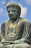 The Great Buddha (Daibutsu) in Kamakura, Jap Royalty Free Stock Photography