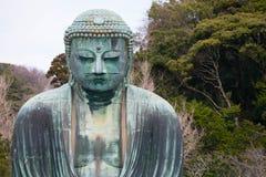 The Great Buddha (Daibutsu) in the Kotoku-in Temple, Kamakura, J Royalty Free Stock Photo