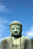 Great buddha (Daibutsu) sculpture Royalty Free Stock Images