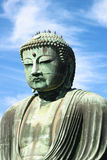 Great buddha (Daibutsu) sculpture Royalty Free Stock Image