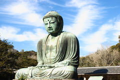 Great buddha (Daibutsu) sculpture Royalty Free Stock Photography