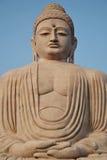 The Great Buddha. The Giant Buddha statue in Bodh Gaya: Bihar; India Stock Photography
