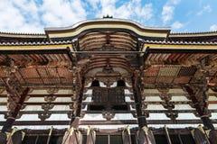 Great Buddha Hall at Tōdai-ji temple (Daibutsu) in Nara Stock Images