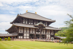 The Great Buddha Hall at Todai-ji Royalty Free Stock Photos