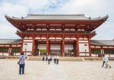 The Great Buddha Hall at Todai-ji Stock Image