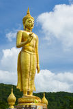 The Great Buddha image. Locate in Hat-yai district, Songkhla Province, southern of Thailand Stock Images