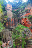 Great Buddha In Leshan, Sichuan, China Royalty Free Stock Photography