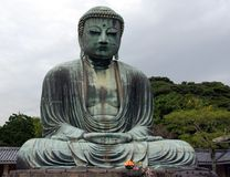 Great Buddha Japan Stock Image
