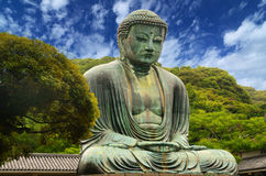 Great Buddha of Kamakura Stock Photography