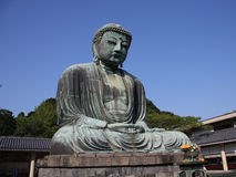 The Great Buddha, Kamakura Stock Photography