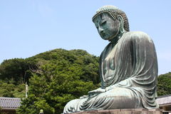 Great Buddha in Kamakura Royalty Free Stock Photography