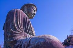 Great Buddha of Kamakura (Daibutsu) Royalty Free Stock Photos