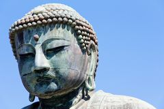 Great Buddha of Kamakura Stock Photography